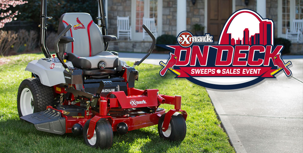 Exmark On Deck Sweepstakes   St  Louis Cardinals