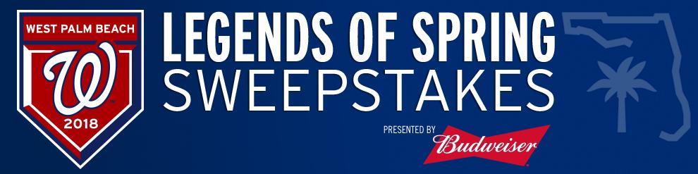 Washington Nationals - Budweiser Sweepstakes | Washington