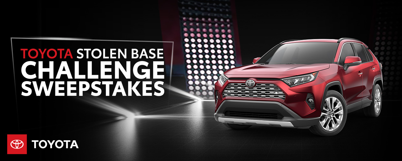 Toyota Stolen Base Challenge Sweepstakes | Atlanta Braves