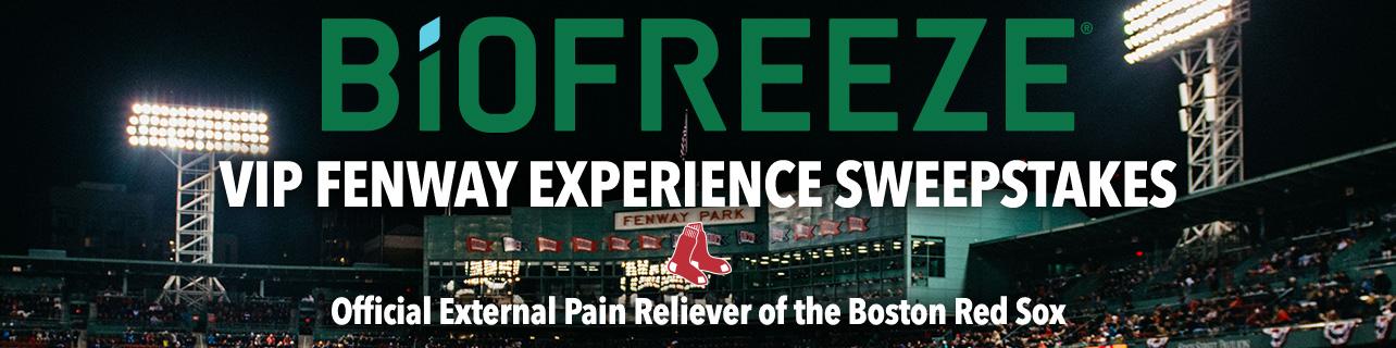 2019 Biofreeze Boston Red Sox Quality Starts Fenway
