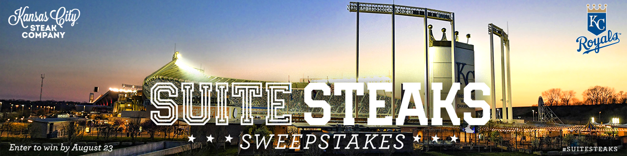 2019 SuiteSteaks Sweepstakes | Kansas City Royals