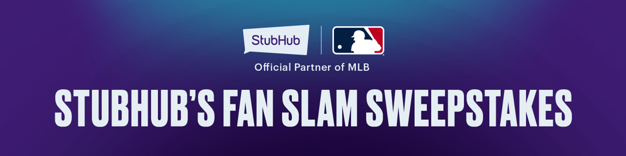 2019 StubHub Fan Slam Sweepstakes | MLB com